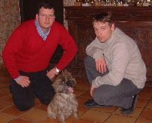 Steve, Yann et Tocade 2004