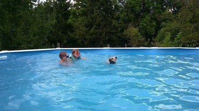 Mon 1 er cour de natation